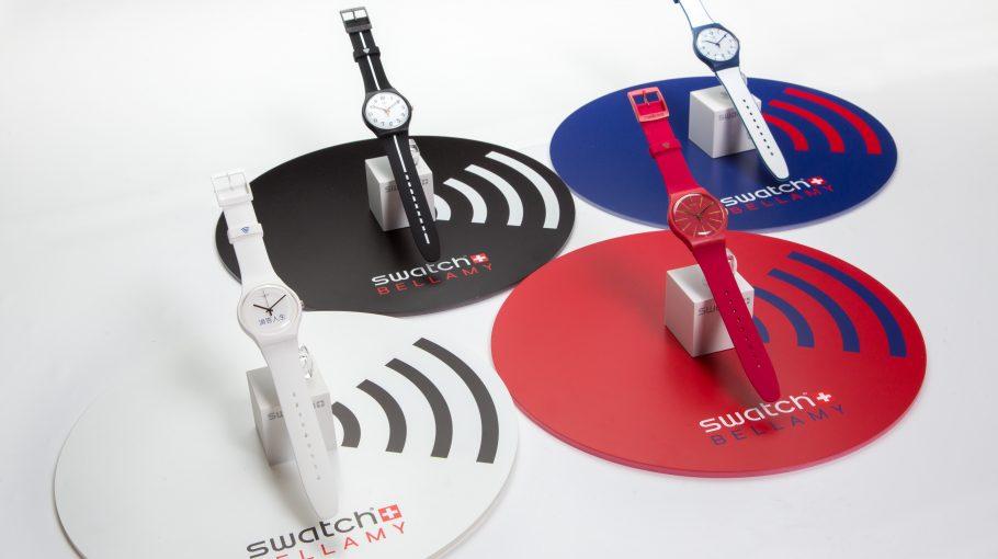 A Swatch Bellamy óra talán a legmenőbben kinéző fizetős eszköz