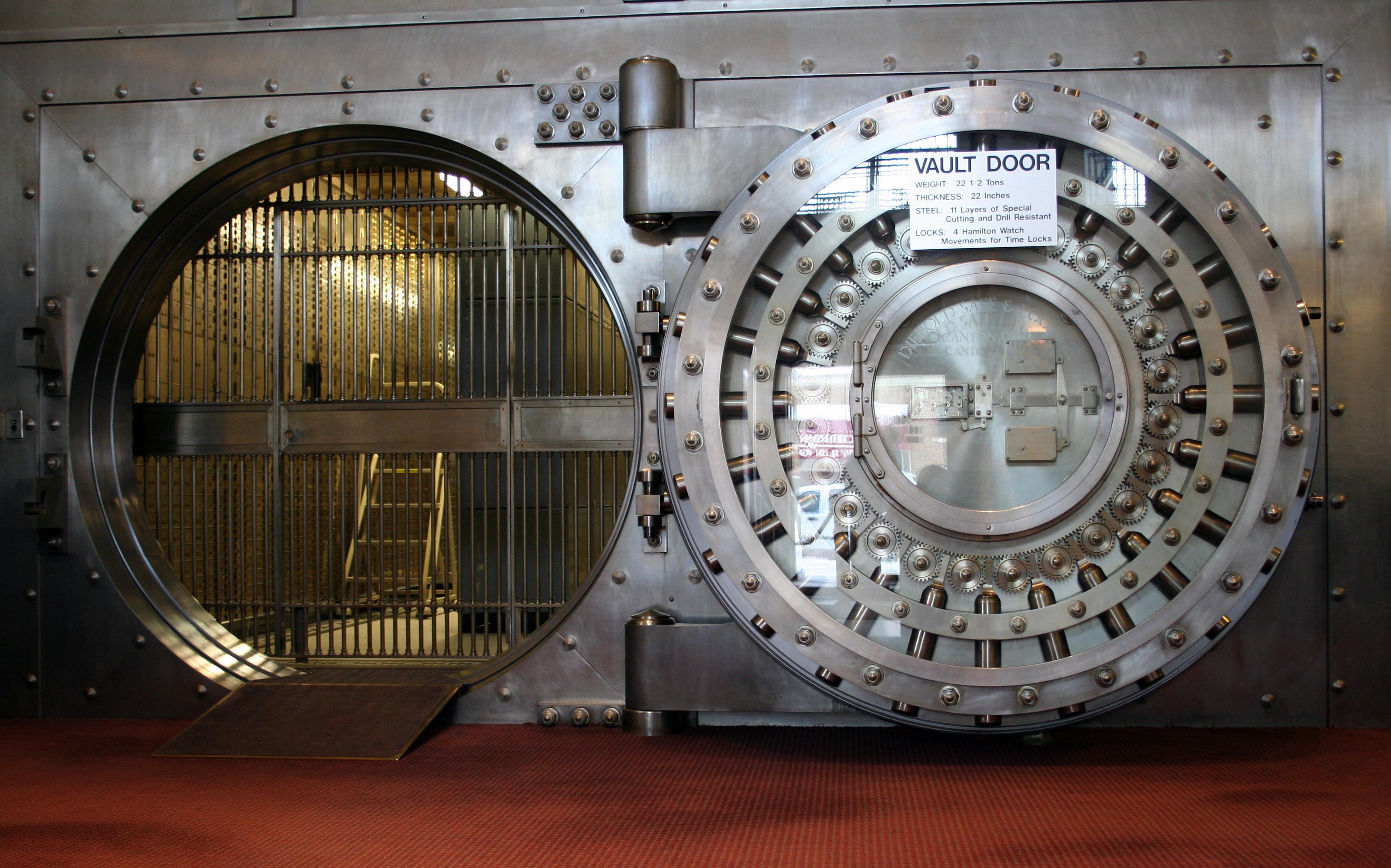 Hétszáz éve nem változott ekkorát a bankolás (Forrás: Jonathunder / Flickr CC-BY / Wikimedia Commons)