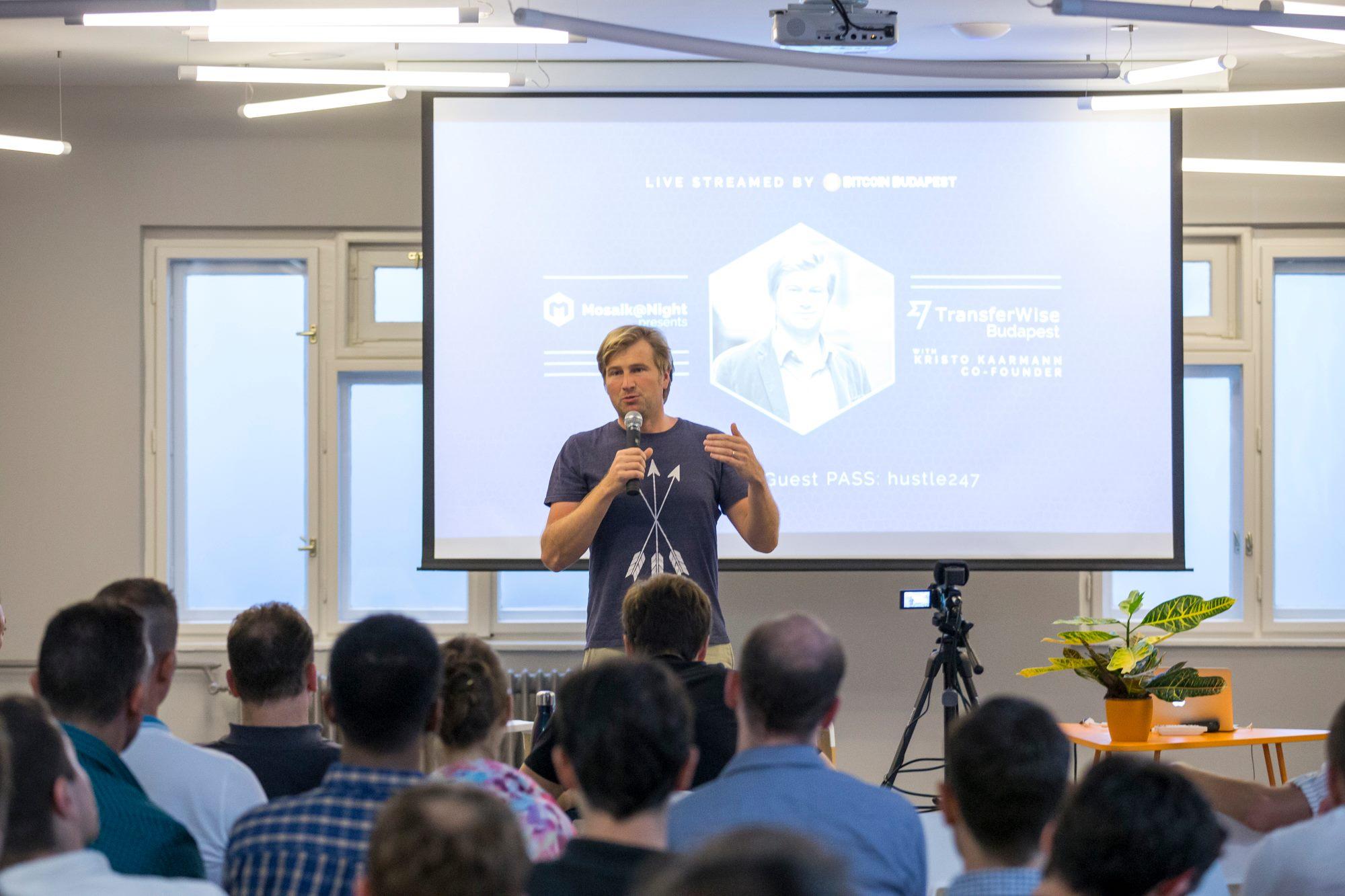 A Transferwise alapítója a budapesti startuppereknek is bemutatkozott tavaly