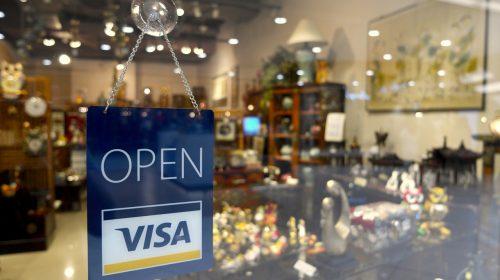 Nyitva Visa bolt bankkártya