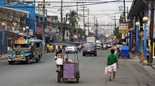 Manila, fejlődő országok