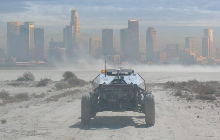 Az egyetemi önvezető kocsik néha úgy néznek ki, mintha a Mad Maxből szöktek volna