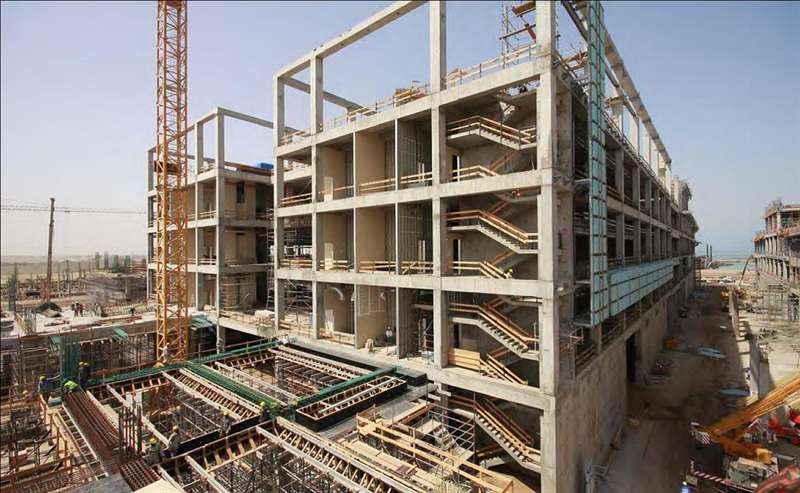 Az Abdullah Király Műszaki Egyetem még egy kicsit félkész