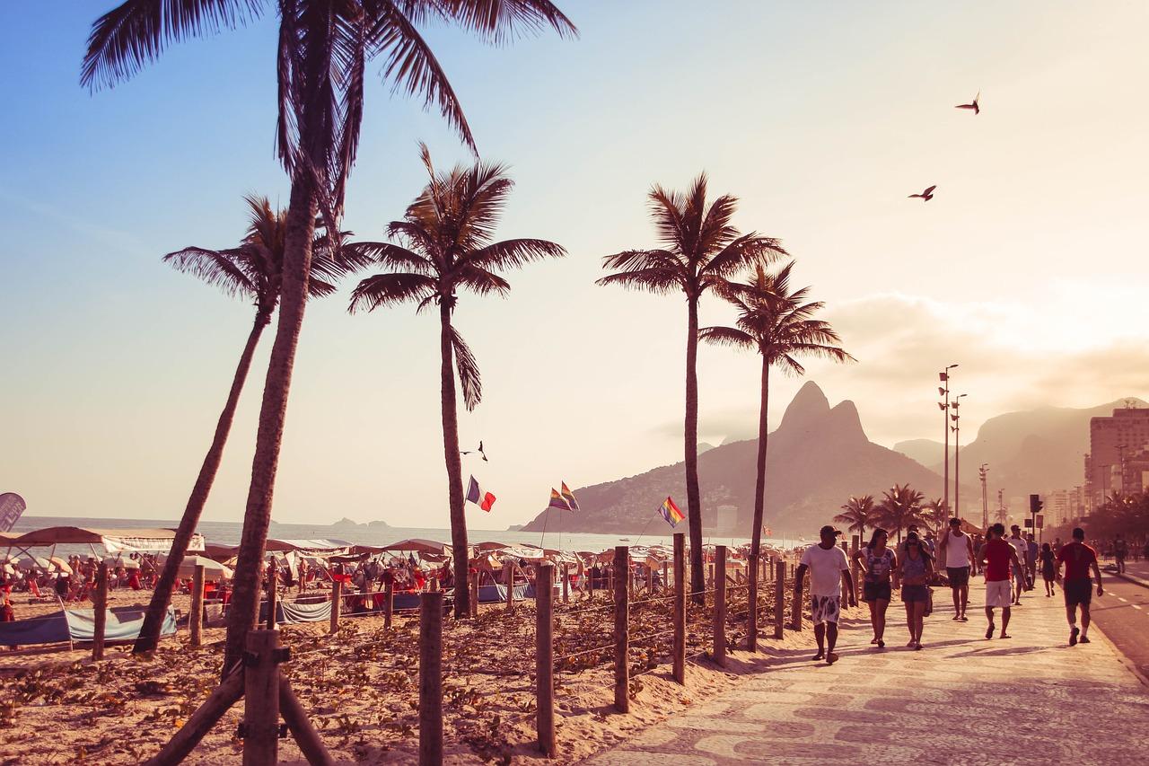Copacabana Rio, olimpia előtt