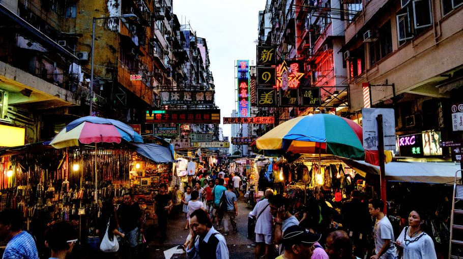 Hongkong önmagában is fontos hely, ráadásul az egyik belépő Kínába
