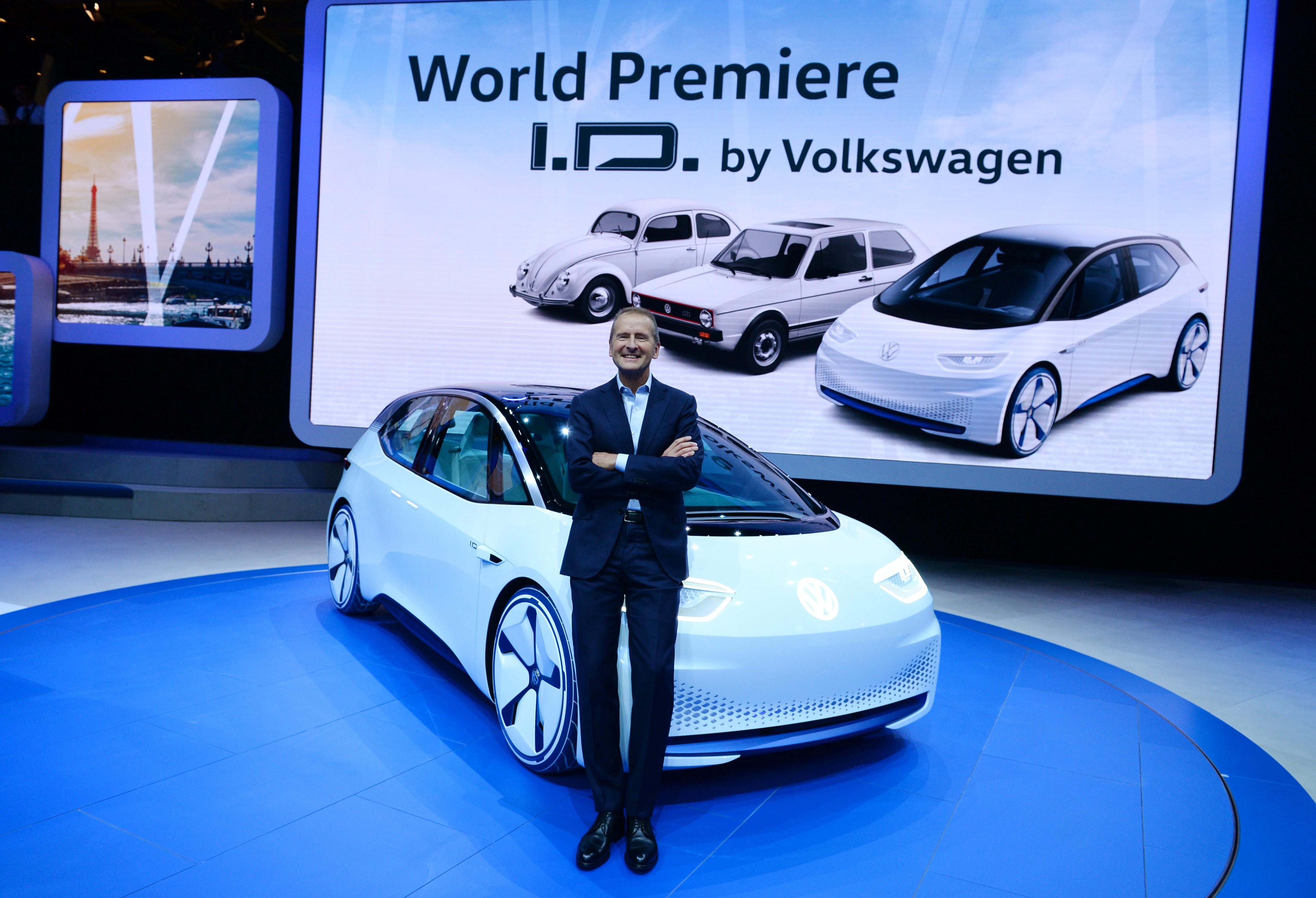Az I.D. nevű koncept autó már elszakadt a hagyományos kocsiktól