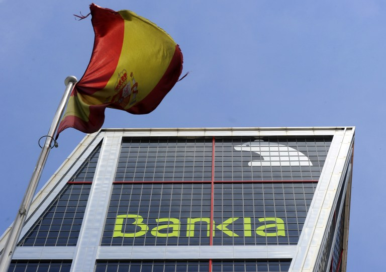 SPAIN-BANKING-BANKIA-STOCKS