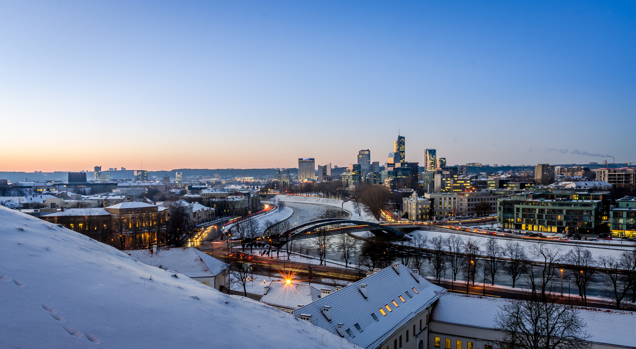 Új városképet kell megszokni: ez Vilnius