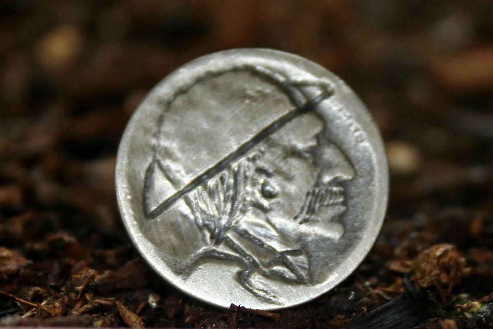 hobo nickel pénz