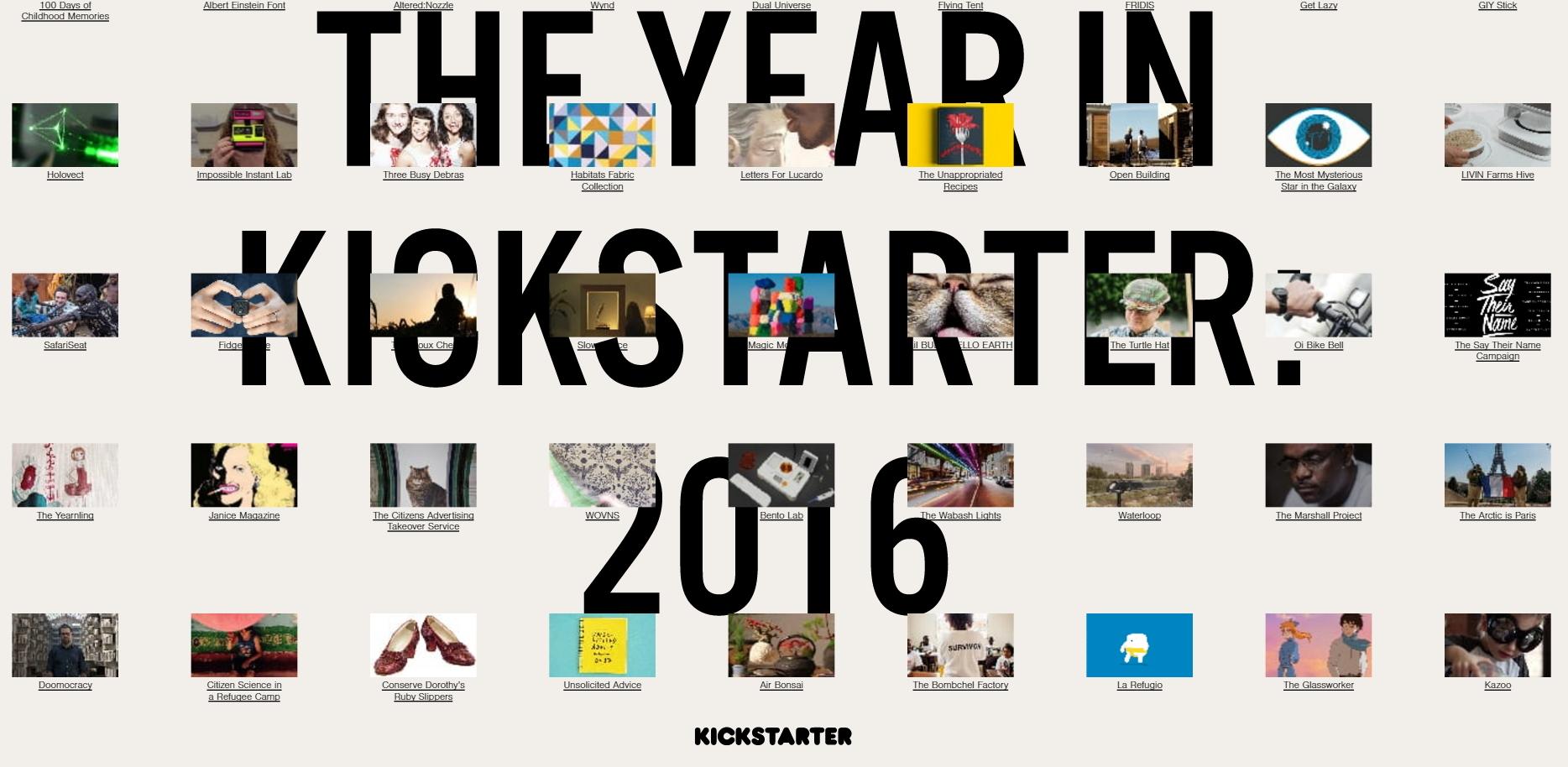 Évről évre több tízezer projekt szerez pénzt a Kickstarteren