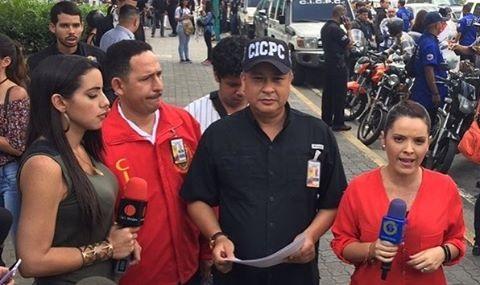 Instagram kép készült a letartóztatás bejelentéséről (Fotó: Instagram / Douglas Rico / CICPC Colombia)