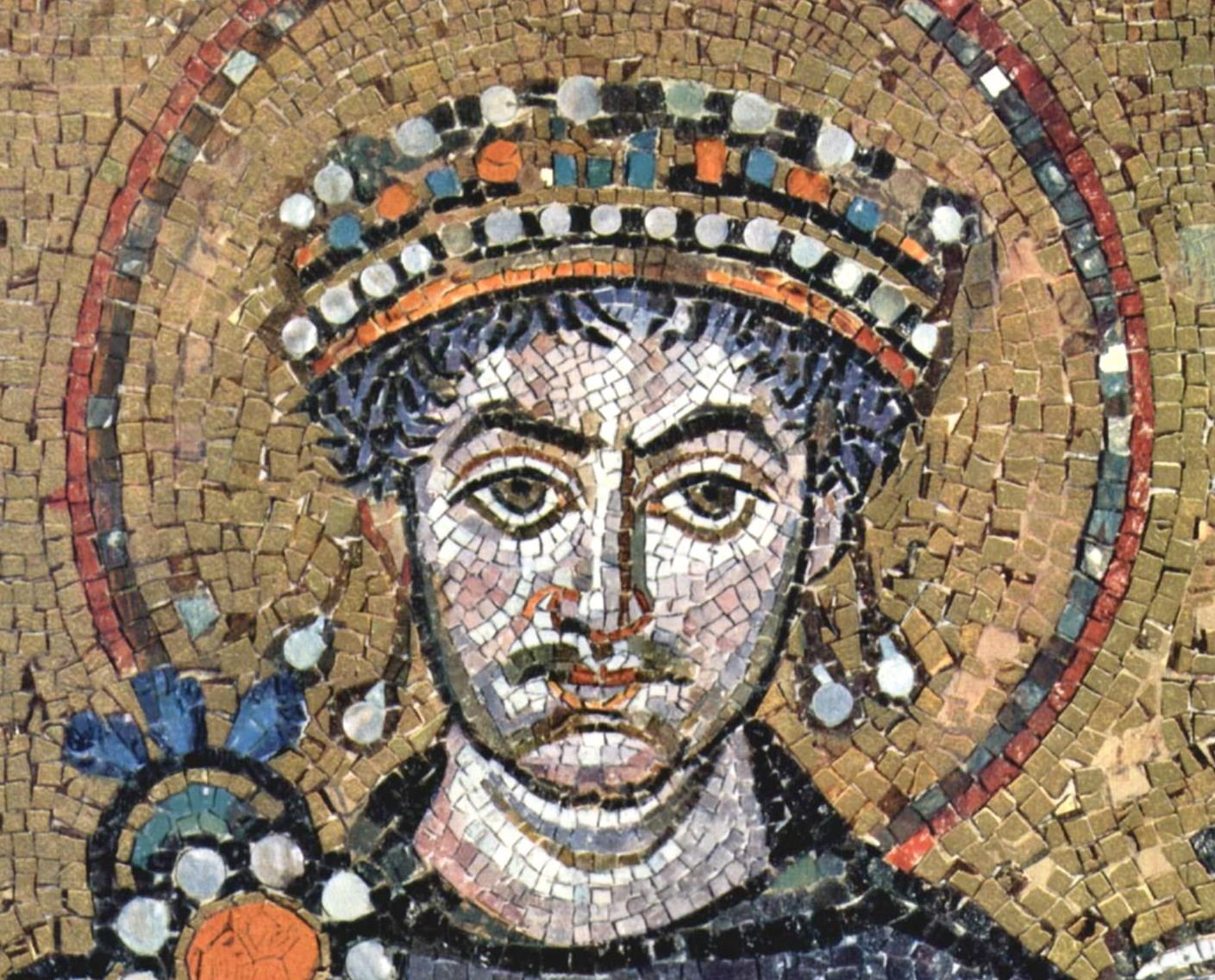 Jusztinianusz bizánci császár, nem volt bitcoinja, nem is tudta egyesíteni a Kelet- és Nyugatrómai Birodalmat (Forrás: WIkimedia Commons)