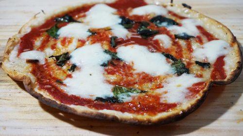 Ez már egy nyomtatott pizza (Fotó: BeeHex)