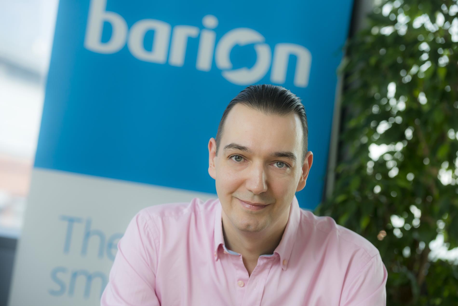 Bíró Tamás, a Barion alapító-tulajdonosa (Forrás: Barion)