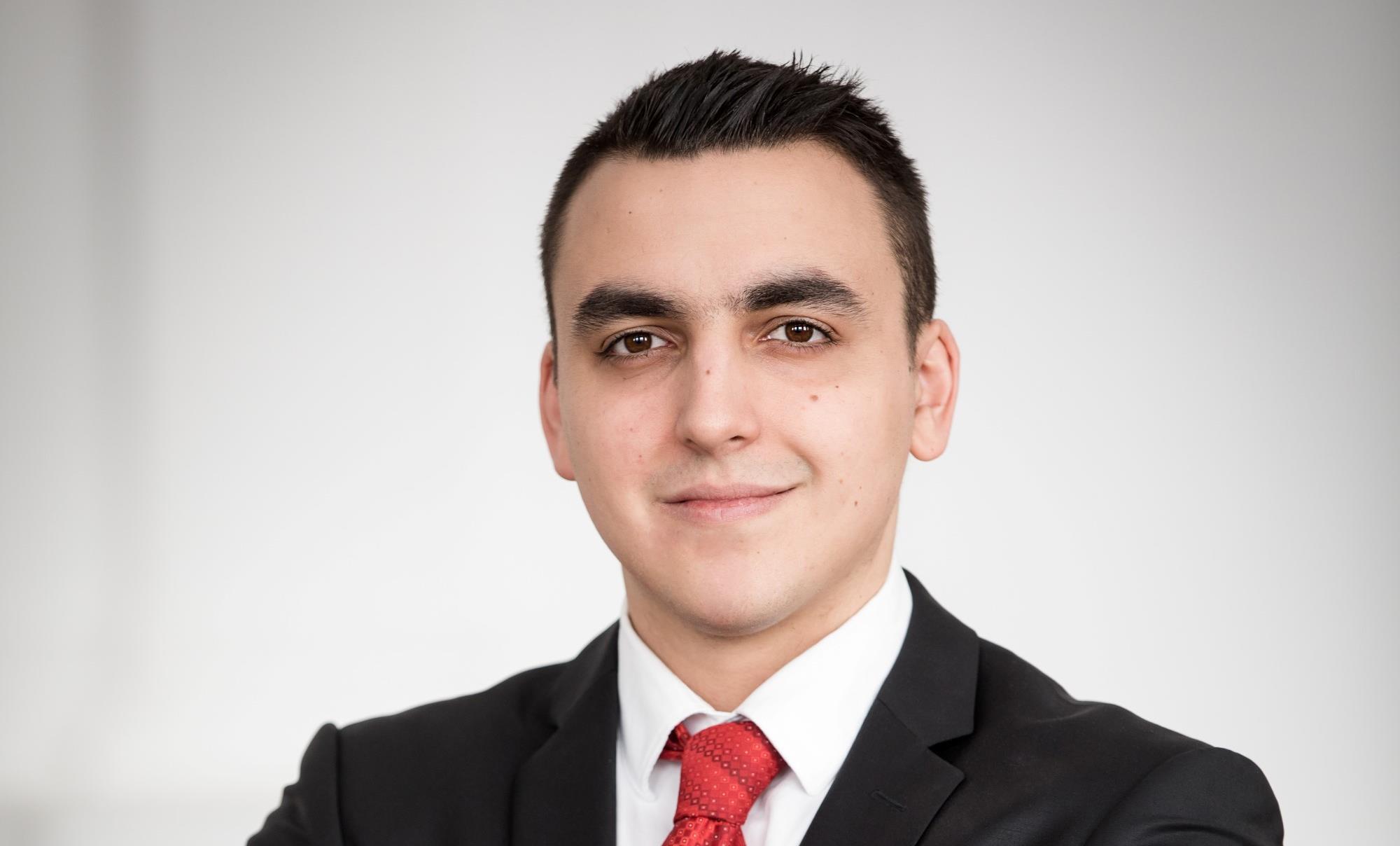 Pereczes János, az MKB Fintechlab vezetője( (Forrás: MKB)