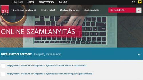 mkb_szamlanyitas