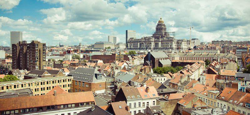 Csak szemre régies a brüsszeli igazságügyi palota (Fotó: Alain Wibert / CC-BY)