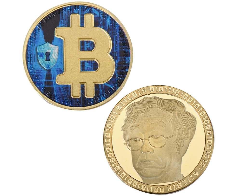 Külön poén, hogy az érmén Dorian S. Nakamoto van, aki nem a bitcoin atyja
