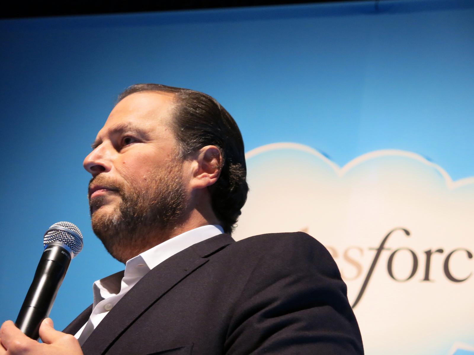 Marc Benioff, a Salesforce alapítója hisz a véletlen találkozások erejében (CC-BY-SA)