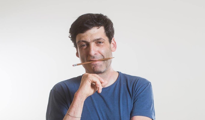 Így néz ki Ariely, amikor stockfotónak álcázza magát (Forrás: Dan Ariely / Facebook)